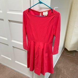 Kate Spade pink boatneck dress